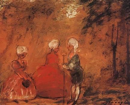 Rococo 1904 by Gulacsy Lajos