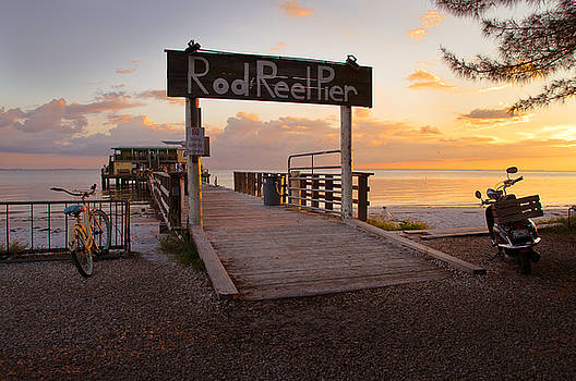 Rod and Reel Pier by Tony DellOrfano