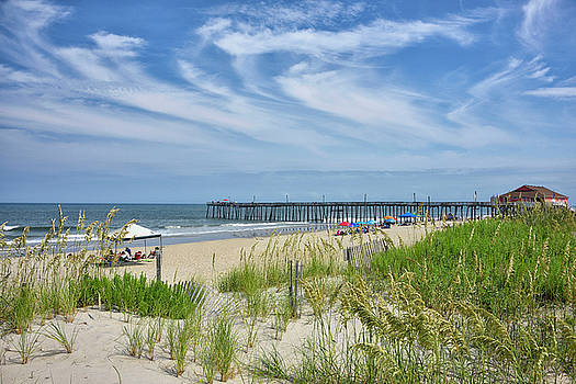 Rodanthe Fishing Pier - Outer Banks by Brendan Reals