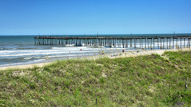 Avon Pier - Outer Banks of North Carolina by Brendan Reals