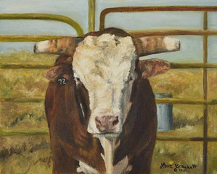 Rodeo Bull 8 by Lori Brackett