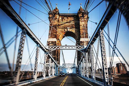 Roebling Bridge by Greg Grupenhof
