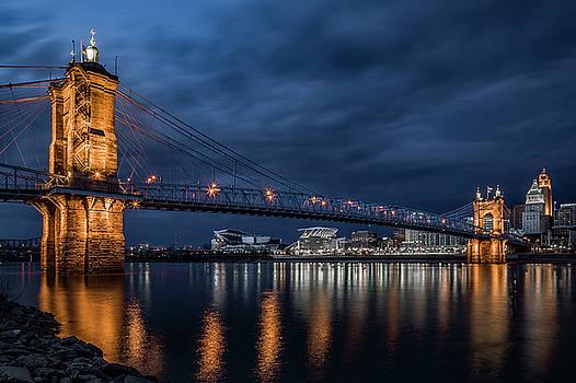 Roebling Suspension Bridge by Greg Grupenhof