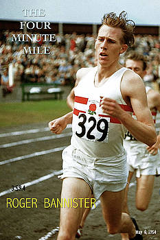 Roger Bannister, The Four Minute Mile by Thomas Pollart