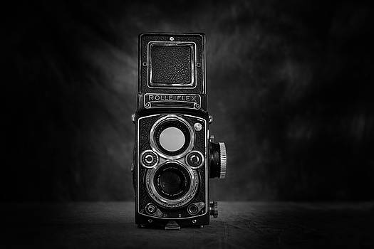 Rolleiflex Twin Lens Front View by Mark Wagoner