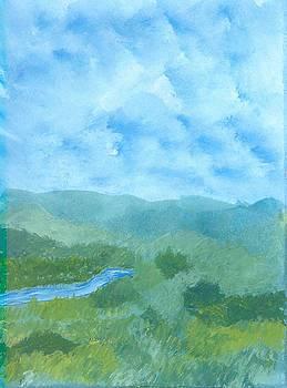 Rolling Hills by Helene Henderson