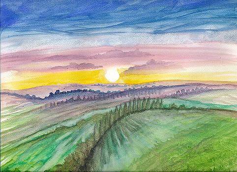 Rolling Hills by Luke Aldington