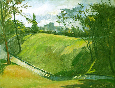 Rolling Hills of Fairmount Park by Zois Shuttie