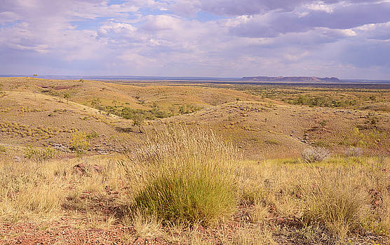 Rolling Hills, Outback Australia by Vicki Vale