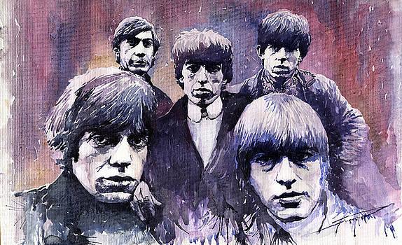 Rolling Stones  by Yuriy  Shevchuk