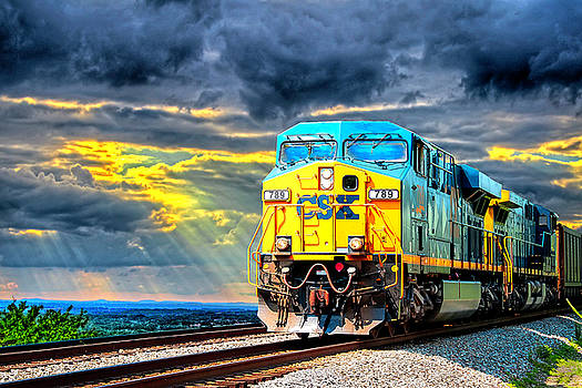Rolling Through The Rays by Roger McBee