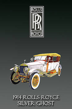 Rolls Royce Silver Ghost by Jack Pumphrey