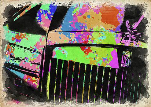 Ricky Barnard - Rolls Royce Watercolor II