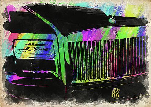Ricky Barnard - Rolls Royce Watercolor