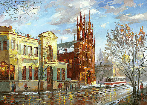 Roman Catholic church by Dmitry Spiros