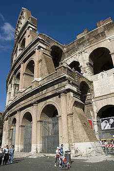Roman Coliseum by Charles  Ridgway