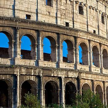 Roman Colliseum by Jim Madigan