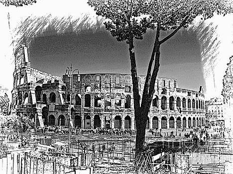 Roman Collosseum VI by Al Bourassa
