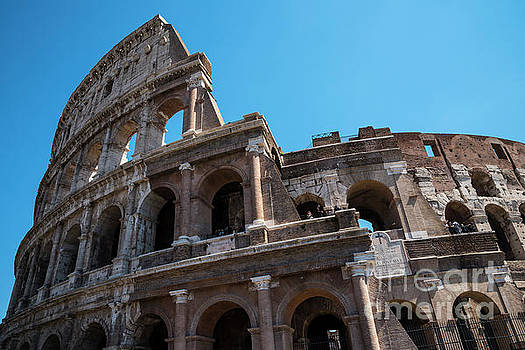 The Colosseum of Rome by Brenda Kean