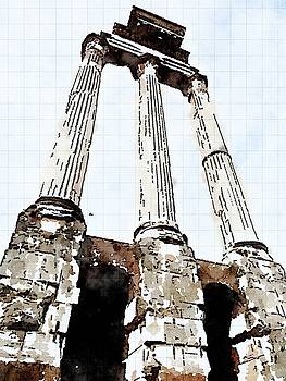 Roman Forum by Kenna Westerman