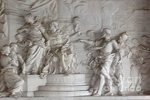 Roman Frieze by Mary Erbert