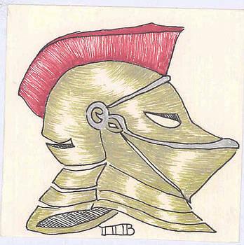 Roman Helmet by Lenora Brown