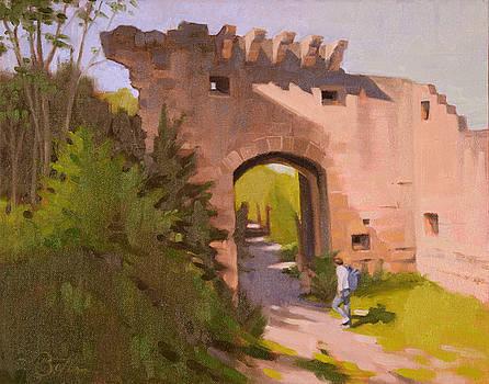 Roman Ruins by Todd Baxter