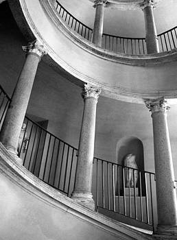 Roman Staircase by Donna Corless