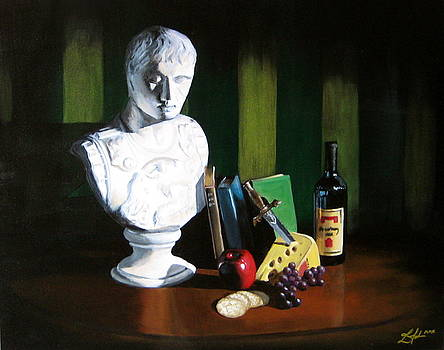 Roman Still Life by Lorrisa Julianus