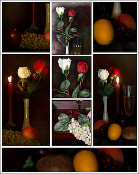 Romance Collage by Cecil Fuselier