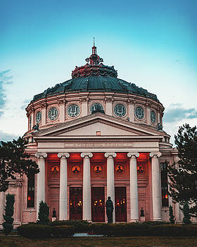 Romanian Athenaeum by Chris Thodd