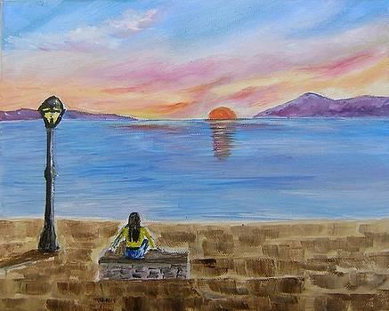 Romanic Sunset by Manolia Michalogiannaki