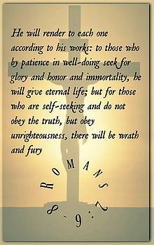 Romans 2 6 8 by David Norman