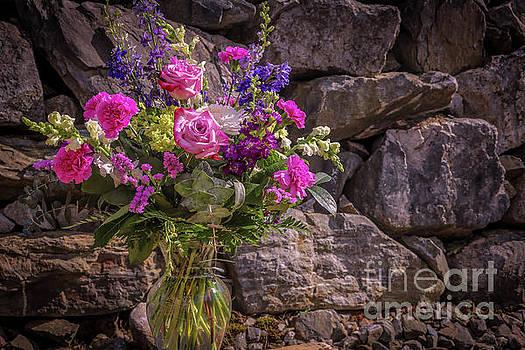 Romantic bouquet 1 by Claudia M Photography