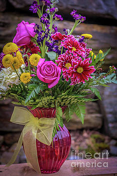Romantic bouquet 2 by Claudia M Photography