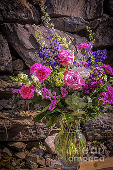 Romantic bouquet by Claudia M Photography