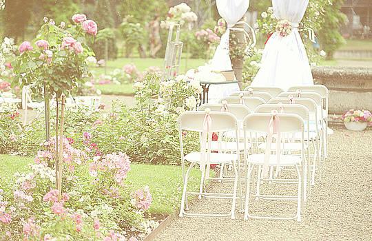 Jenny Rainbow - Romantic Details of Wedding Arrangement. De Haar Castle