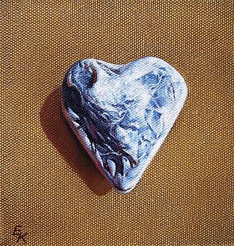 Romantic heart by Elena Kolotusha