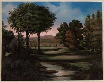 Romantic Italian Landscape by Joseph Greenawalt
