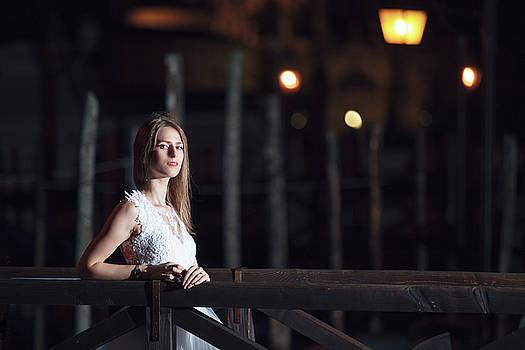 Romantic Night In Venice by Cristian Mihaila