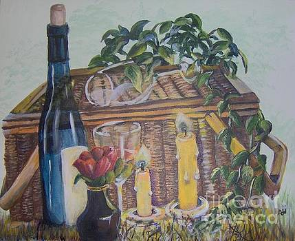 Romantic Picnic by Saundra Johnson