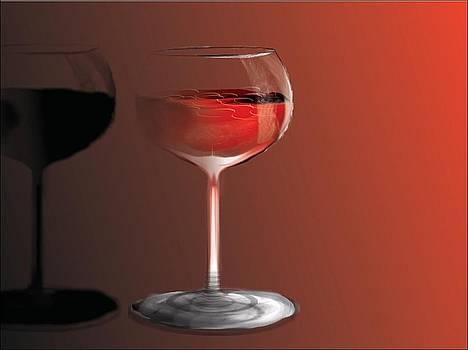 Romantic Red Wine by Arif MAC