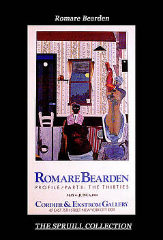 Romare Bearden by Everett Spruill