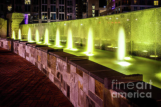 Paul Velgos - Romare Bearden Park Fountain in Charlotte NC