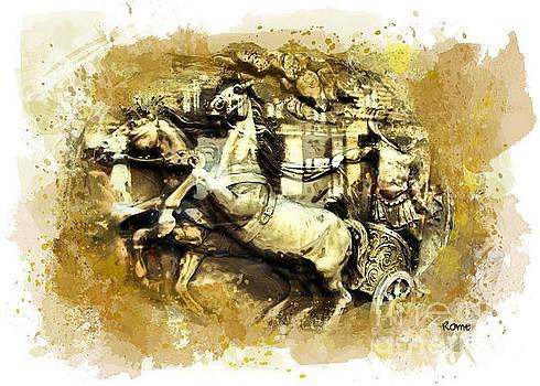 Justyna Jaszke JBJart - Rome chariot