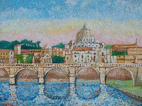 Rome by Jean Pierre Bergoeing