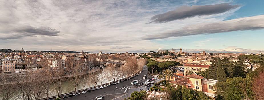 Rome - panorama  by Sergey Simanovsky