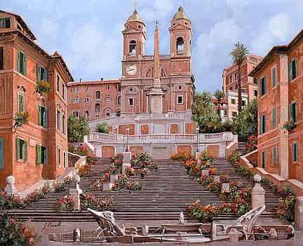 Rome-Piazza di Spagna by Guido Borelli