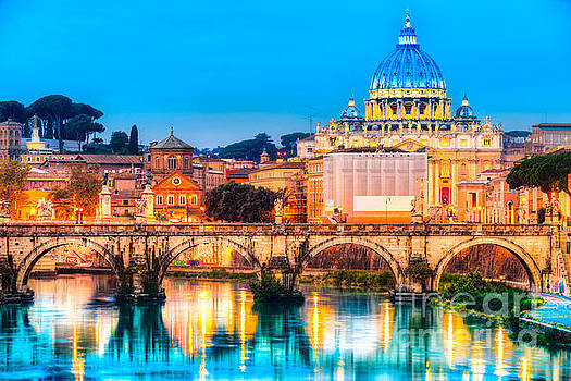 Rome - St peter - Italy by Luciano Mortula