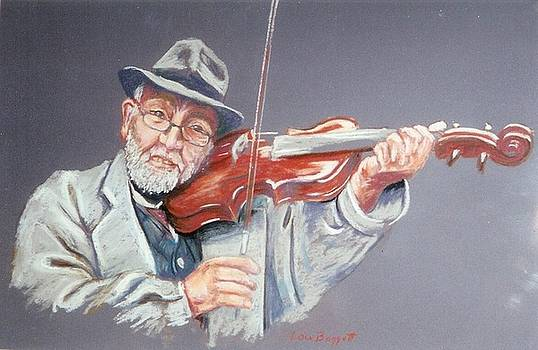 Rome Violinist by Lou Baggett